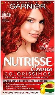 Coloração Nutrisse Creme Coloríssimo 6646, Pimenta Fogo, Garnier