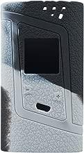 Smok Alien 220W Protective Gel Skin Case Cover Sleeve Wrap Fits 220 Watt Smoktech Alien 220 (Grey/Black)