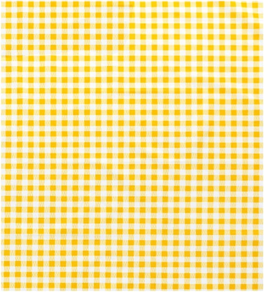 Picnic Blanket Beach Oversized Grid Yellow Max 75% OFF All-Match Pic Quantity limited