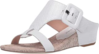Donald J Pliner womens Wedge Sandal, White, 8.5 US
