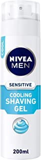 NIVEA, MEN, Shaving Gel, Sensitive Cooling, 200ml