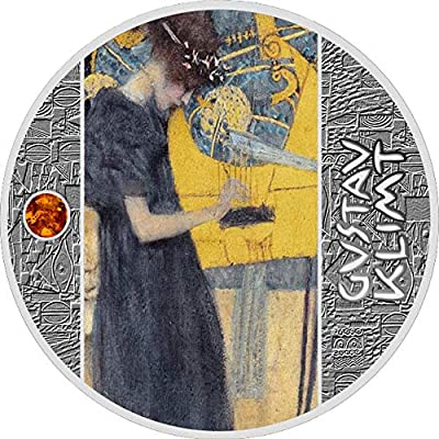 2020 CM Klimt Golden Five PowerCoin MUSIC Gustav Silver Coin 500 Francs Cameroon 2020 Proof