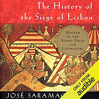 The History of the Siege of Lisbon audiobook cover art