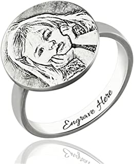 Best photo engraved rings Reviews