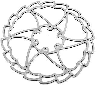 15274 Disco freno wave floreado ondulado /Ø160mm bici bicicleta ALHONGA