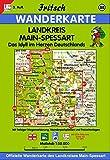 Fritsch Karten, Nr.88, Main-Spessart (Fritsch Wanderkarten 1:50000)