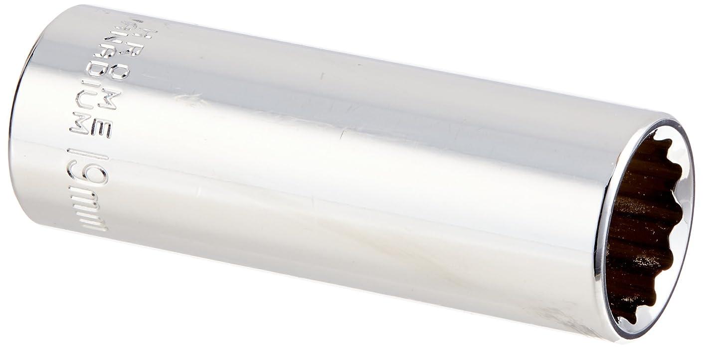 MINTCRAFT MT6528980 1/2-Inch Drive 12 Point Deep Socket, 19mm