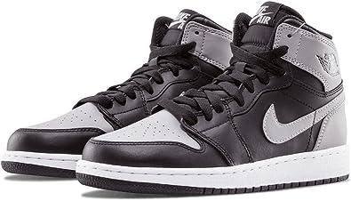 Nike - Chaussures Air Jordan 1 Retro High Junior-39-Noir : Amazon ...