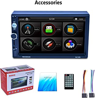 """7"""" HD LCD Touch Screen 800 * 480 Car MP5 Player 1080P 7 Color Button Back Light Mirror Link FM/AM/RDS Tuner RK-7157B"""