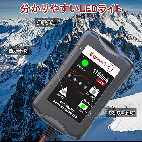 LeicesterCNL『12Vバッテリー充電器』