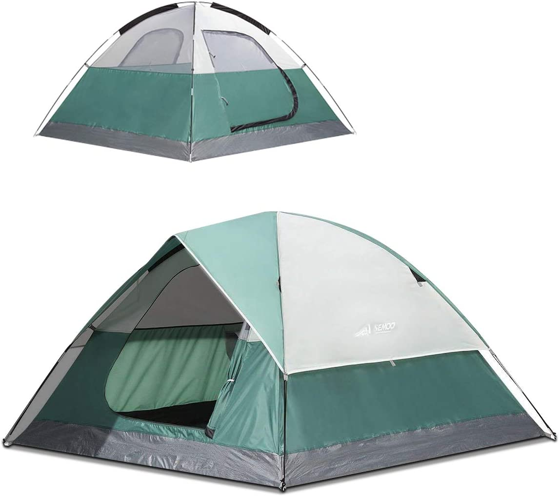 SEMOO3-4 Person Dome Family Camping Waterproof 5 ☆ very popular and Conveni Latest item Tent