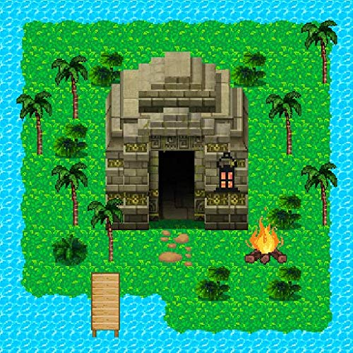 Survival RPG 2- La aventura de las ruinas antiguas. Encuentra el artefacto y explora la jungla.