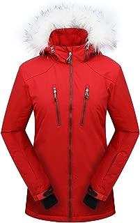 PHIBEE Women's Outdoor Waterproof Windproof Snowboard Breathable Snow Ski Jacket