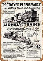 1954ライオネル玩具列車コレクティブルウォールアート