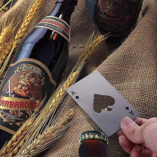 Opaceluuk『ビールボトルオープナー4枚トランプ』