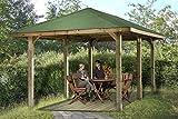 Weka Pavillon Gartenoase 651 D Größe 1