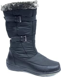 Wanderlust T14672 Mara Faux-Fur Zipper Water Proof Boots
