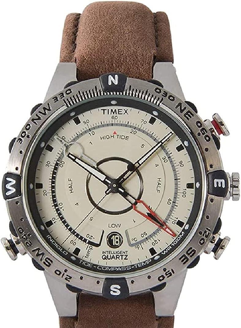 Timex Intelligent Quartz - Reloj análogico para Hombre de cuarzo con correa de silicona