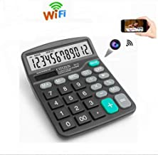 Calculator WiFi Camera, HD Hidden Camera Wireless Spy Camera, Video Recorder Support Motion Detection