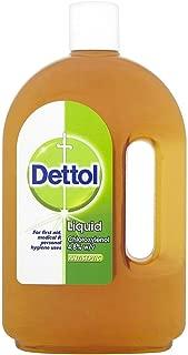 Dettol Original First Aid Antiseptic Liquid 25.35 oz (Pack of 6)