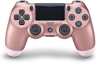 وحدة تحكم دوال شوك 4 من سوني لاجهزة PS4، ذهبي وردي (النسخة الرسمية)