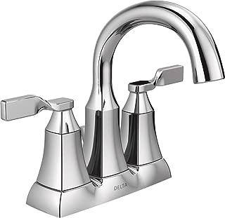 Delta Faucet 25766LF Sawyer Two Handle Lavatory Faucet, Chrome, 4