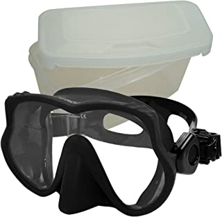 Promate frameless Mask for scuba diving snorkel with mask protective box