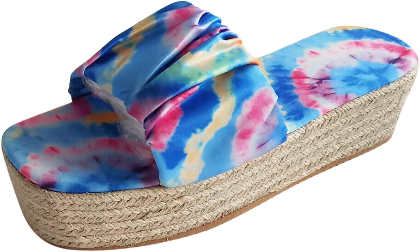 PLENTOP Platform Wedge Sandals for Max 85% OFF Toe Open Be Breathable Luxury goods Women