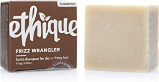Ethique Eco-Friendly Solid Shampoo Bar for Dry or Frizzy Hair, Frizz Wrangler - Sustainable Natural Shampoo, Soap Free, pH...