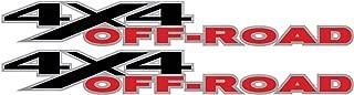 Vinylmark LLC Aftermarket 4x4 Off Road Decals - 2005 to 2009 Compatible with Dodge Truck Bed