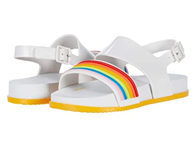 Mini Melissa Mel Cosmic Sandal II INF (Little Kid/Big Kid) (White) Girl