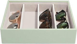 Stackers Boîte à bijoux classique avec lunettes de soleil Vert sauge Taille M