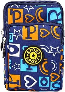 Kylin Express Practical Stylish Pouch Purse Zipper Wallet Cellphone Coins Bag, F