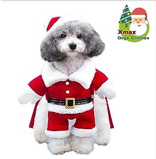 bcd65ecdaf232 Costume de Noël Chien Manteau pour chien Hiver Veste pour chien Chaud Noël  Sweat à capuche