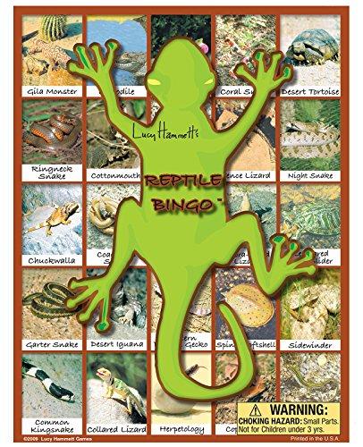 Reptile Bingo