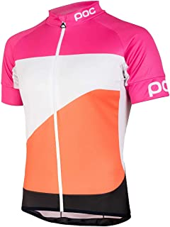 POC Fondo Gradient Classic Jersey Theor Multi Pink Large