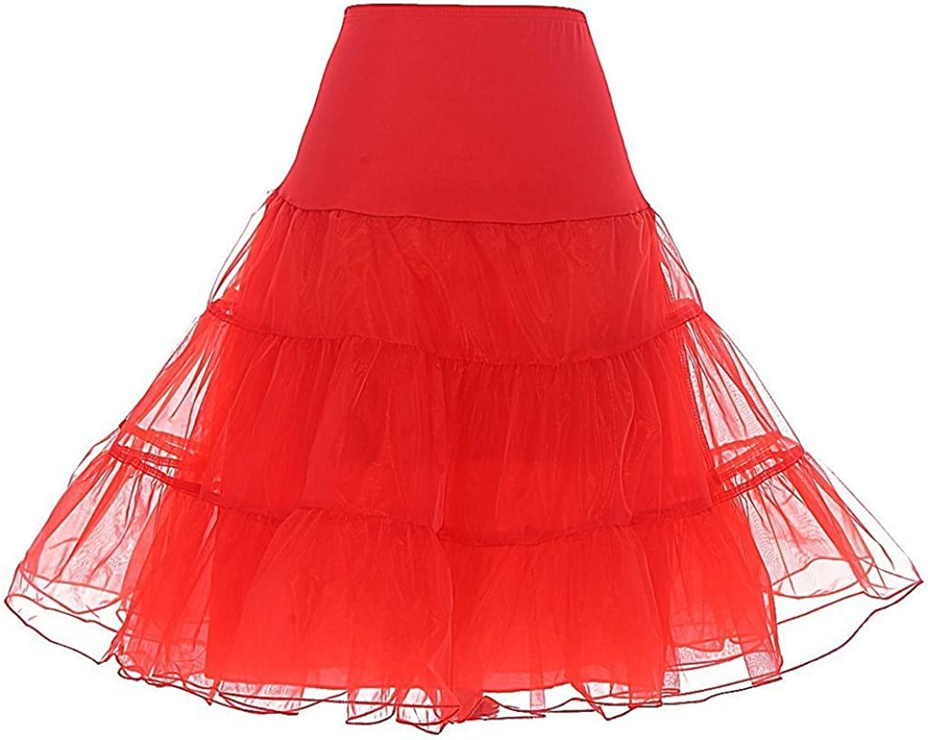 Eliffete Short Crinoline Half Slips for Under Dresses Petticoat Tutu Girls