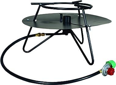 King Kooker Model #C90PKBN 12-Inch Portable Propane Tripod Jet Burner Outdoor Cooker, Black