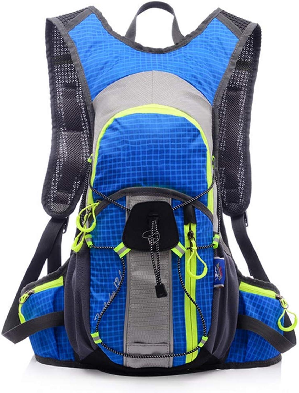 DYYTR Atemberaubender Ultra Light Shoulder Riding Rucksack Running Backpack Hiking Bag Professional Outdoor Waterproof Mountaineering Bag 12L