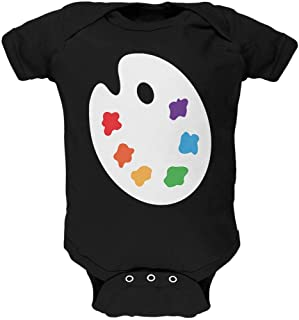 Old Glory Halloween Artist Palette Costume Soft Baby One Piece