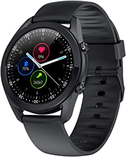 LXZ G33 Men's Business Smart Watch, Men's Bluetooth Llamada Música Pulsera De Fitness Impermeable Samrtwatch, Adecuado par...