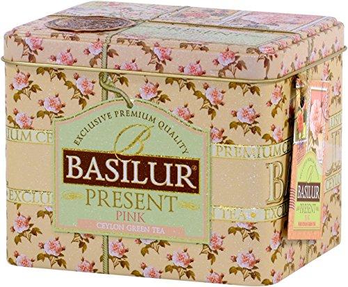 BASILUR Present Pink Grüner Tee Dose 100g