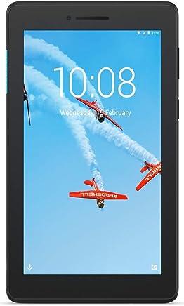 """Lenovo Tab E7 Tablet, Display 10.1"""" HD, Processore Qualcomm, 16 GB Espandibili fino a 128 GB, RAM 1 GB, WiFi, Android Nougat, Nero - Confronta prezzi"""