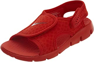 more photos a43c6 04368 Nike Boys  Sunray Adjust 4 Sandals Habanero Red Gym Red 1Y