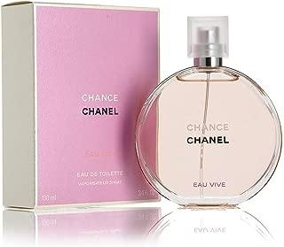 Chànél Chance Eau Vive Eau de Toilette Women Spray 3.4 OZ.