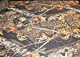 SoftSports, LLC Neoprene Wet Suit Fabric Material, 3mm, Camouflage, 12 Sizes and Prices (12 inches X 54')