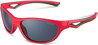 ACBLUCE TPEE Rubber Polarized Sports Sunglasses for Kids...