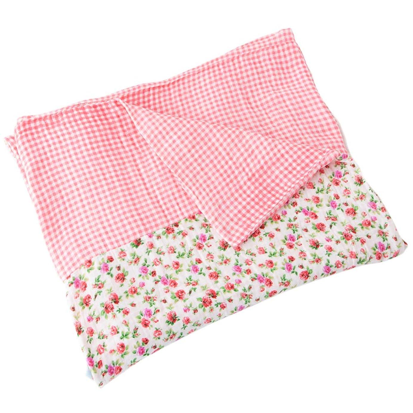 略す役立つサドルセシール 掛けふとんカバー ピンク ダブル 掛け布団カバー 洗いざらしダブルガーゼ CR-1128