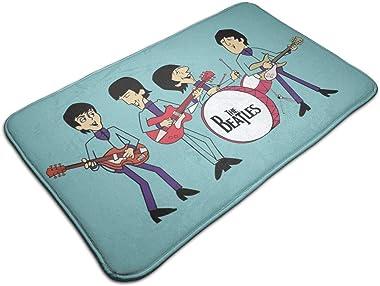 """Door Mat Bea-tles Cartoon Pop Non-Slip Bath MatDecorative Doormat,Bathroom Kitchen Floor Carpet Mat 19.5"""" X 31.5"""""""