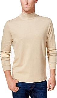 Club Room Mens Mockneck Long Sleeves Casual Shirt
